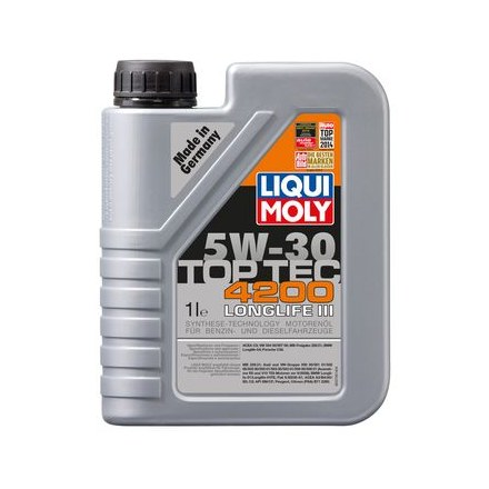 liqui moly top tec 4200 5w 30 1l nr 8972. Black Bedroom Furniture Sets. Home Design Ideas