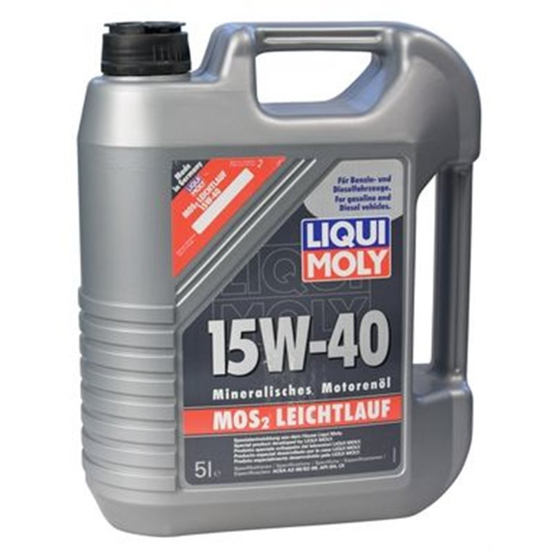liqui moly mos2 leichtlauf super 15w40 5l 2571. Black Bedroom Furniture Sets. Home Design Ideas