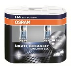 H4 OSRAM NIGHTBREAKER UNLIMITED BOX