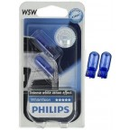 PHILIPS w5w WHITEVISION 12V 5W
