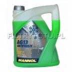 Mannol AG13 Antifreeze (zielony) -40°C 5l