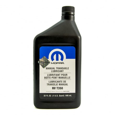 Mopar manual transaxle lubricant NV T350 946ml (04874465)